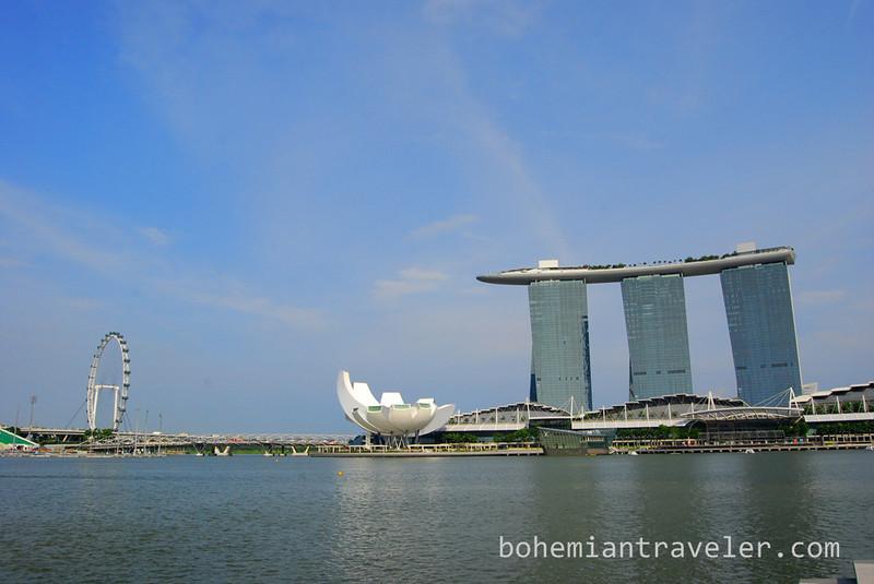 Marina Bay Sands Hotel.