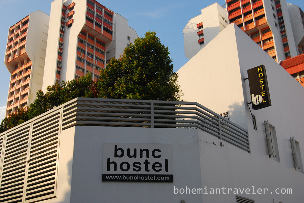 "For more information about Bunc Hostel in Singapore, visit: <a href=""http://bunchostel.com/"" rel=""nofollow"">bunchostel.com/</a>  or see my best 4 Day Itinerary in Singapore: <a href=""http://bohemiantraveler.com/2013/11/four-days-singapore/"" rel=""nofollow"">bohemiantraveler.com/2013/11/four-days-singapore/</a>"