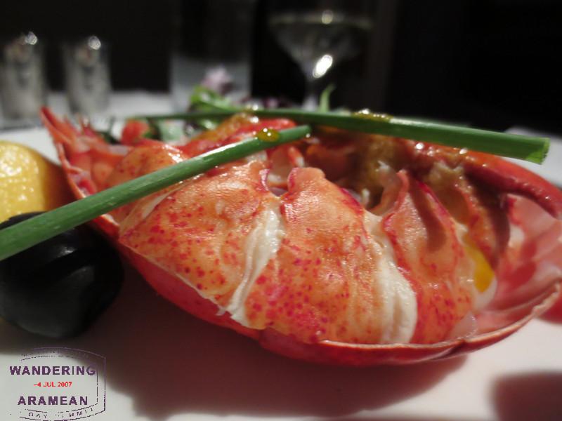 Lobster thermidor. I still don't get it.