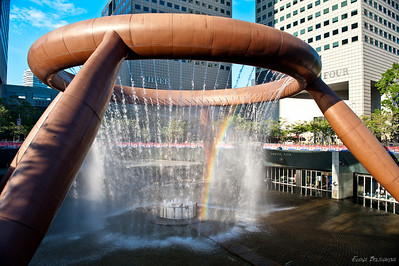 Фонтан богатства - внесен в Книгу рекордов Гиннеса в 1998г. как самый большой фонтан в мире