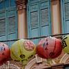 Chinese lanterns in Singapore Street