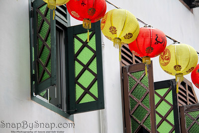Lanterns and Green Glass