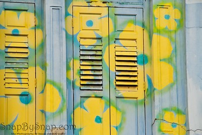 Floral Shutters of Singapore
