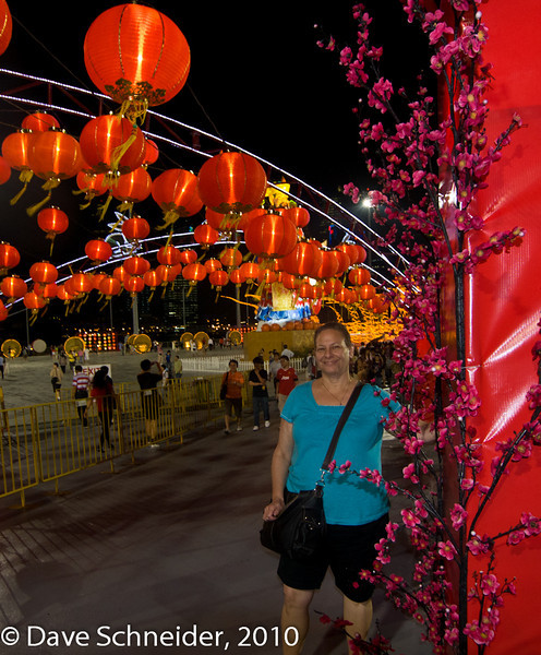 The Chingay Parade is a big Singaporean celebration at the end of the Lunar New Year