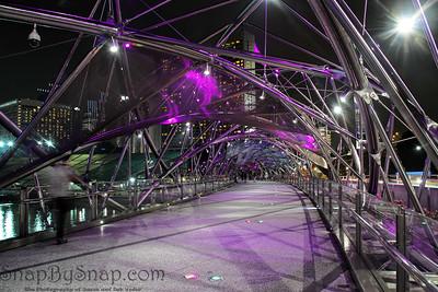 Double Helix Bridge, Singapore