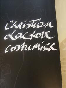 Christian Lacroix Exhibit (Day 3)