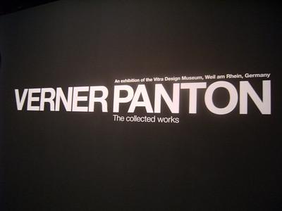 Verner Panton Exhibit (Day 3)