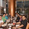With the Ixia gang at a Christmas dinner