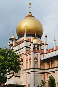 Sultan Mosque in Bugis