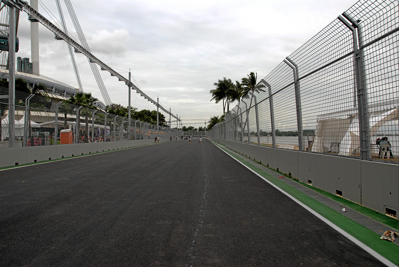 Looking towards turn 24