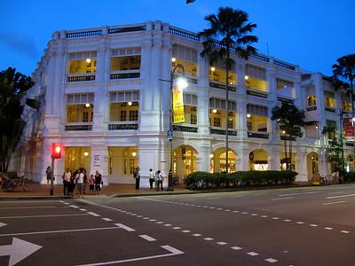 Singapore - July 2010 Raffles Hotel Arcades