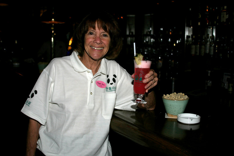 A Singapore Sling in the Raffles Hotel. The alcohol walked through it on stilts, and the price was astronomical. But it WAS a Singapore Sling at the drink's birthplace.