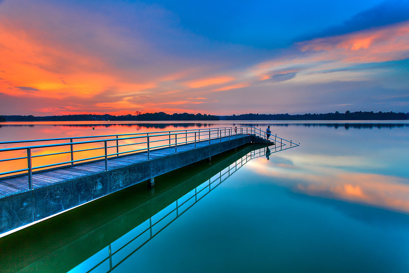 Upper Seletar Resevoir Singapore