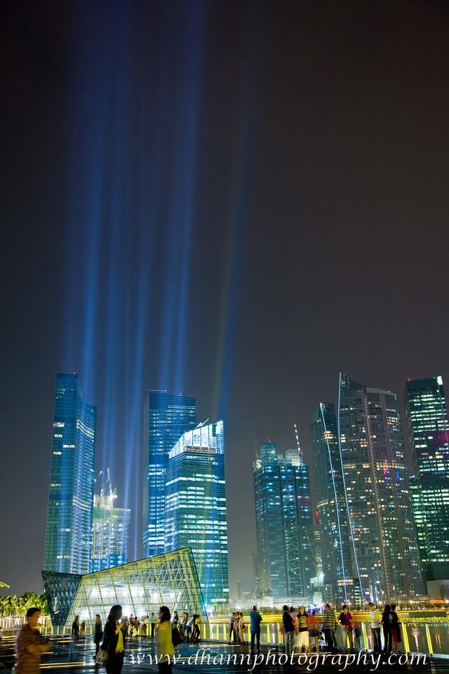 Laser show @ Sands