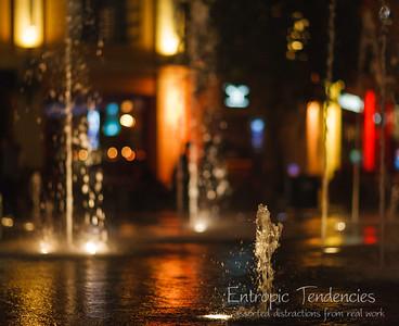 Clarke Quay Fountains Date: 01 September 2009 © Copyright 2009 Barrie Spence