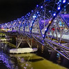 The Helix Bridge at Marina Center