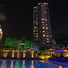 Poolside at the Marriott Hotel Singapore