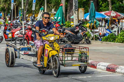 Cruising on Patong beach, Phuket Thailand