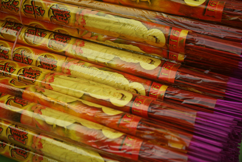 Incense everywhere