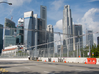 F1 track in the city