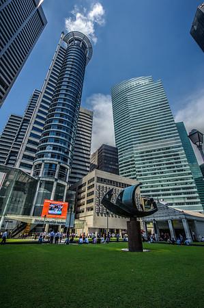 Raffles area, Singapore