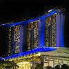 Marina Sands Hotel at Night
