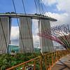Marina Bay Sands. Gardens by the Bay