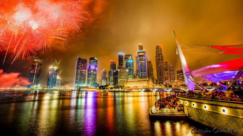 Singapore Skyline HDR (2 of 2)