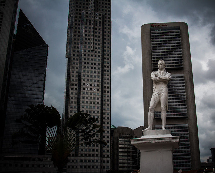 The Raffles' Landing Site is the location where tradition holds that Sir Stamford Raffles landed in on 29 January 1819. The site is located at Boat Quay Central Singapore's central business district.
