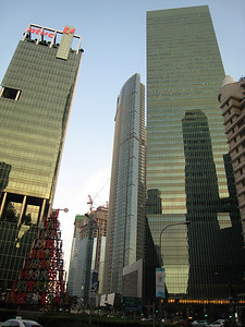 Skyscrapers in CBD