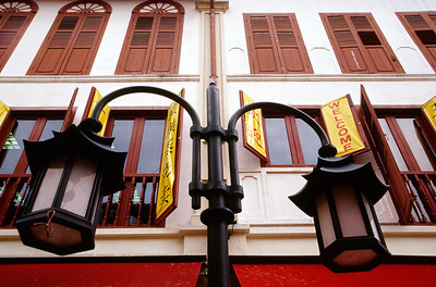 A Building in Singapore's Chinatown