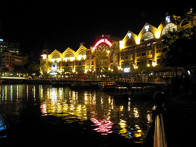 Riverside Point at Clarke Quay, Singapore.