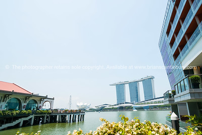 Singapore, city, buildings.