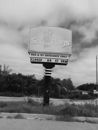 Abandoned Six Flags NOLA