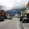 Downtown view in Skagway, Alaska.
