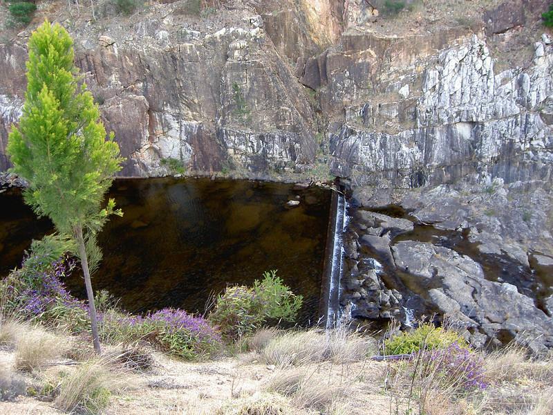 Brogo dam spillway