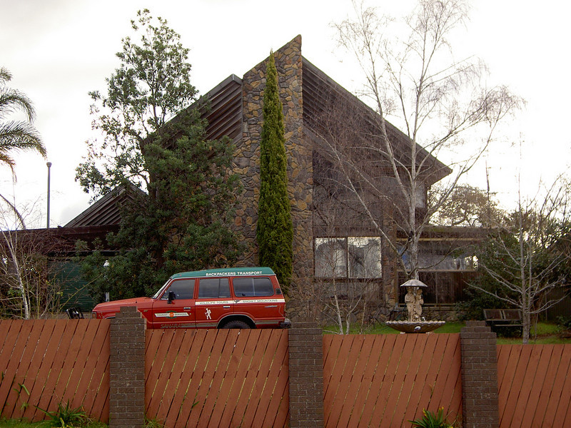 Our old house in Bega.