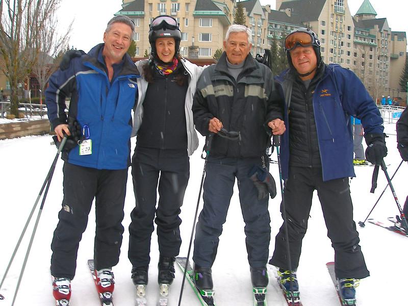Dan Behune, Dad, Pam et moi