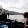 Ferry. Převoz na druhou stranu jezera Loch Lomond.