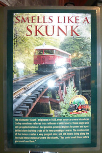 How the skunk train got it's name