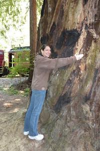 Diane tree-huggin'!