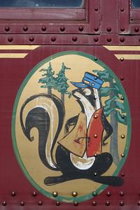 The train mascot