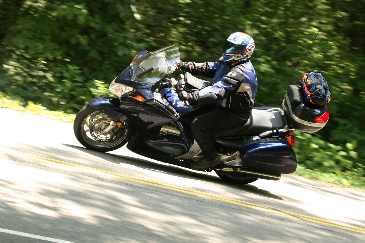 Rich on his 2003 ST1300.