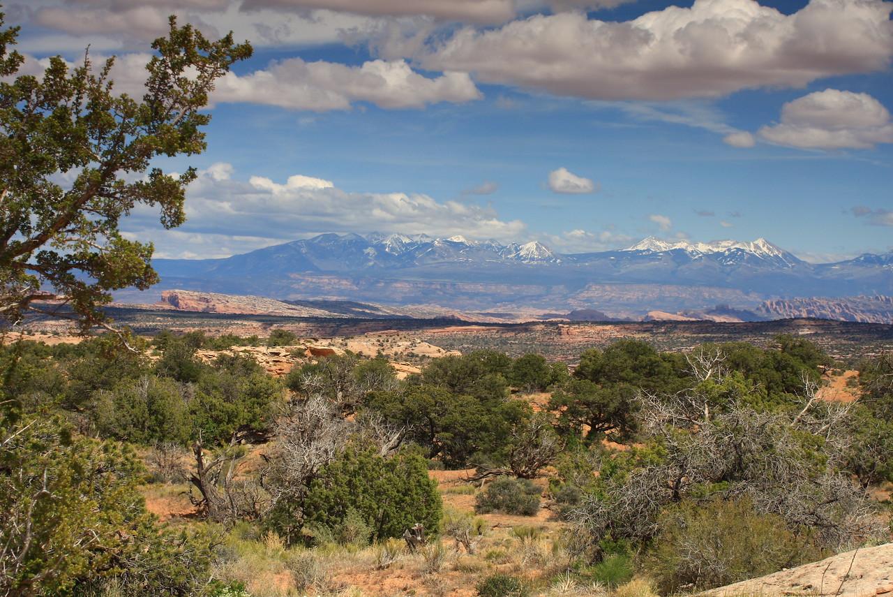 La Sal Mountains, near Moab