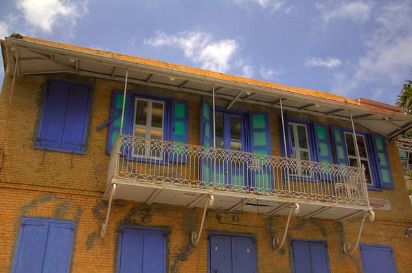 Charlotte Amalie downtown, St Thomas, US Virgin Islands