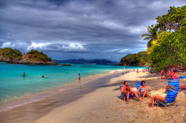 Trunk Bay, St John, US Virgin Islands