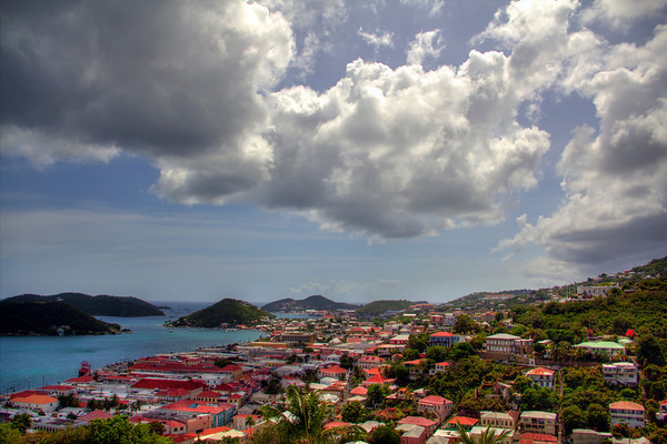 Charlotte Amalie Downtown, St Thomas, US Virgin Islands