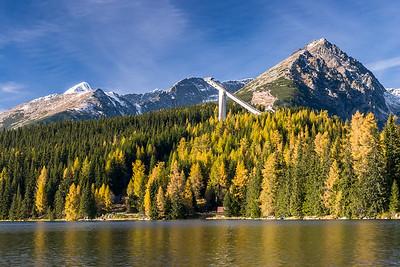 Strbske pleso, High Tatras mountains, Slovakia, 2004