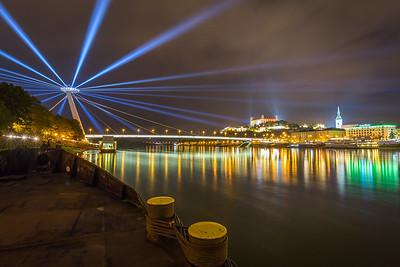 White night, Bratislava, Slovakia, 2016