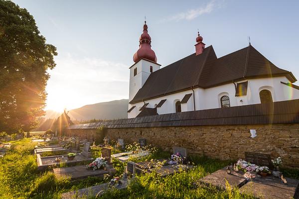 Church in Liptovske Matiasovce, Slovakia, 2017